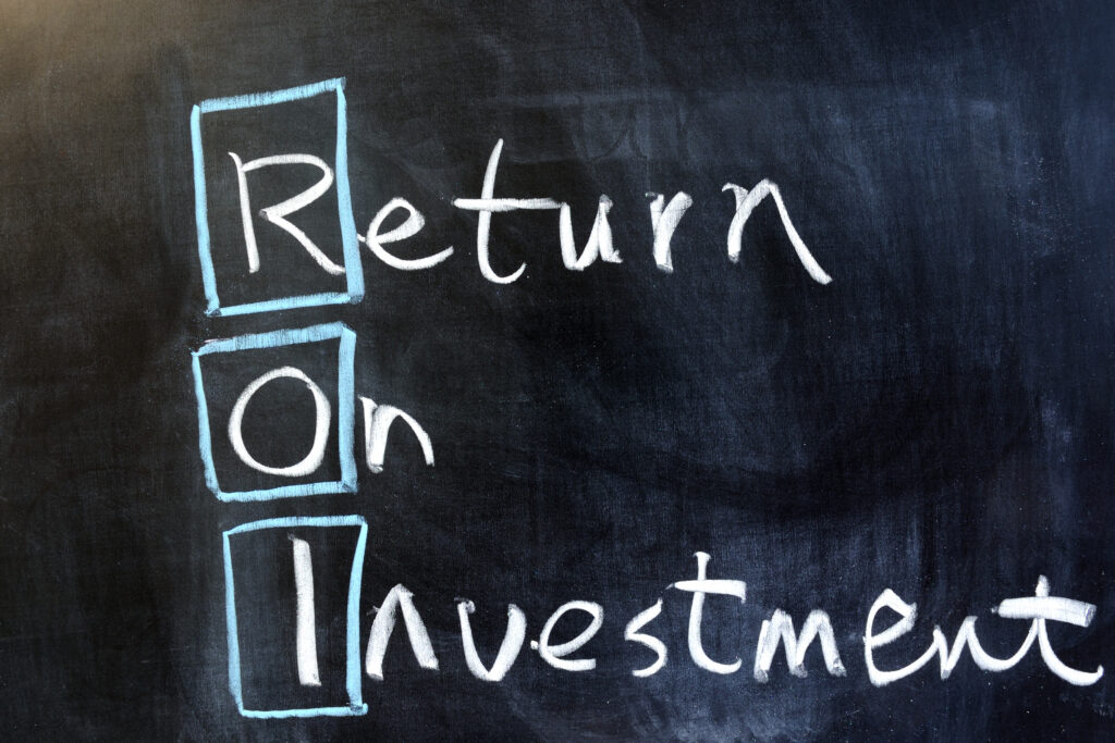 All 4 Comms_Proving return on marketing investment ROI