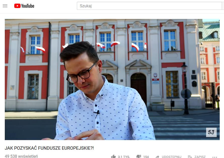 influencer, fundusze europejskie
