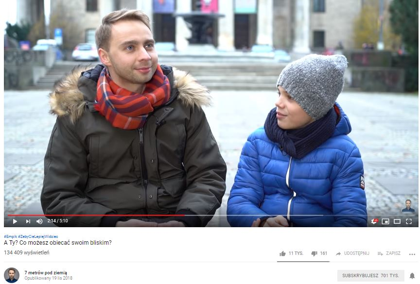 Polish Christmas 360° marketing campaigns