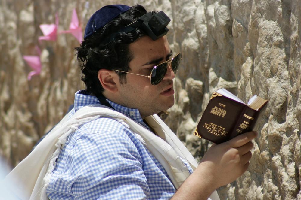 A Jewish person